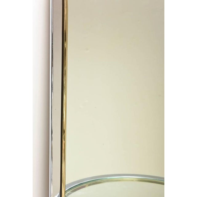 Gold Pace Racetrack Arched Wall Mirror For Sale - Image 8 of 8