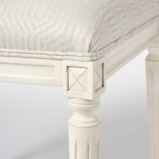 Features: Hand-Carved European Beechwood Frame, Double Row Self-Welt, Tight Upholstery Distressed Finish Wood Finish:...