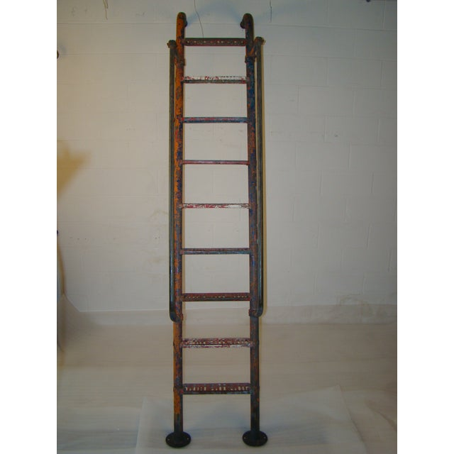 Vintage Steel American Playground Ladder For Sale - Image 10 of 11