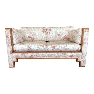 1980s Loveseat (Matching Sofa Available) For Sale