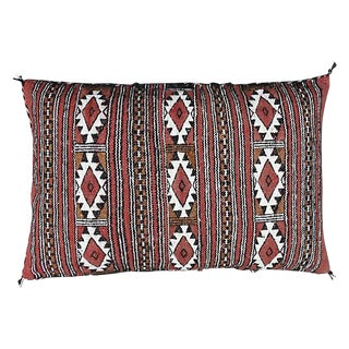 Moroccan Berber Pillow With Diamonds