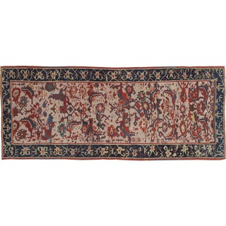 Early 20th Century Antique Persian Runner Rug - 3′2″ × 8′2″ For Sale