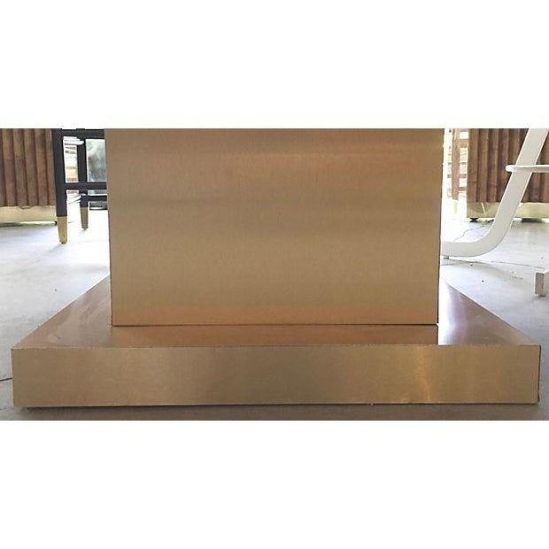 Faux Marble Square Coffee Table - Image 7 of 7