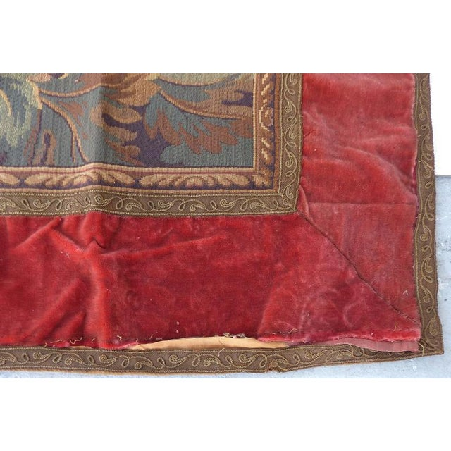 Early 20th Century Tapestry Wall Hanging, circa 1920s from a Historic South Florida Home For Sale - Image 5 of 11