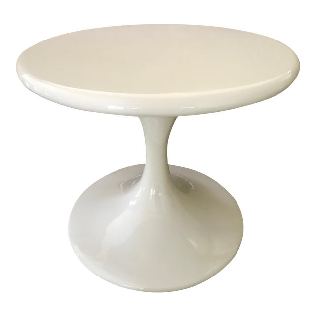 Saarinen Style Tulip Side Table - Image 1 of 8