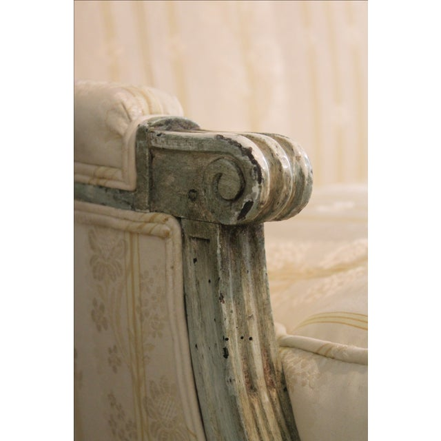 Louis XVI Style Settee - Image 6 of 7