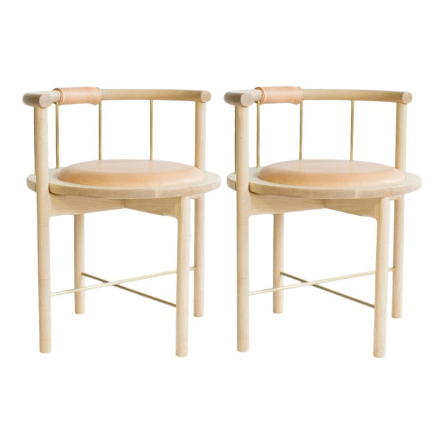 Featured in The 2020 San Francisco Decorator Showcase — Crump & Kwash Chairs - Set of 2 For Sale