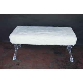 Bench With Lucite Hoof Legs Preview