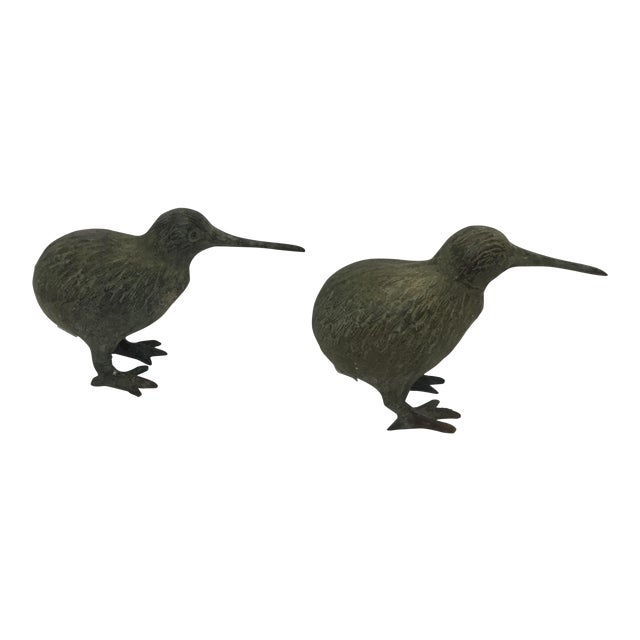 Bronze Birds Models - A Pair - Image 1 of 4