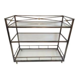 Modern Neoclassical Bar Cart