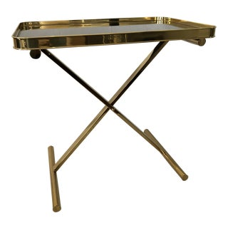 Ralph Lauren Home One Fifth Cross Brace Tray Table For Sale