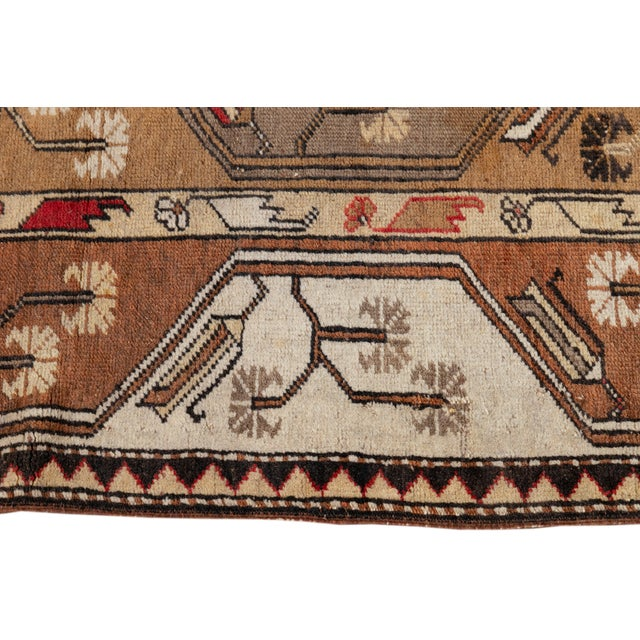 Mid 20th Century Vintage Rug For Sale In New York - Image 6 of 9