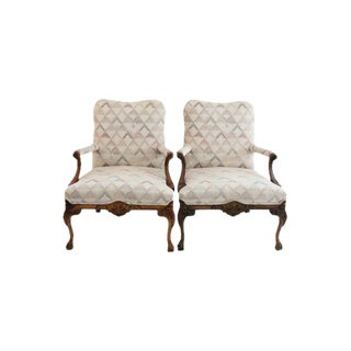 Chippendale Lolling Chiars - A Pair