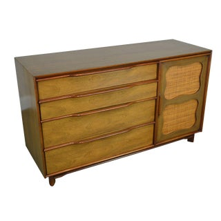 Mid Century Modern Mahogany Dresser by Hickory For Sale