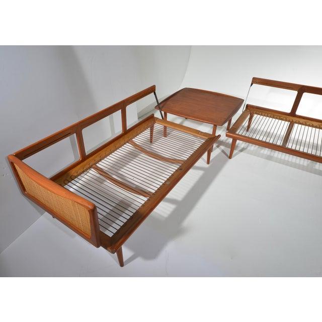 Mid-Century Modern Peter Hvidt & Orla Mølgaard-Nielsen Fd451 Daybed Living Room Set For Sale - Image 3 of 13