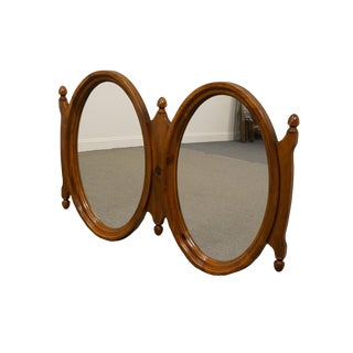 Link Taylor Solid Colonial Pine Rustic Country Wall Mirror For Sale