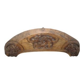 Antique Carved Panel For Sale