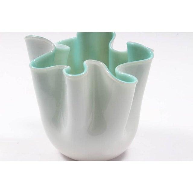 Vintage Hand-Blown Handkerchief Murano Glass Vase. Type: Vase Materials: Glass Marks: Country of Origin, Label Period:...