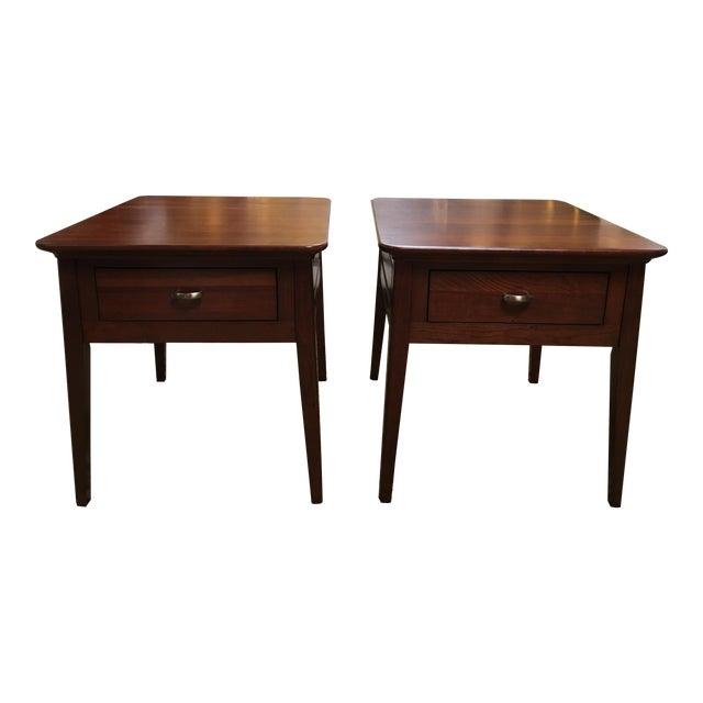 Kincaid Park Cherry End Tables - A Pair - Image 1 of 10
