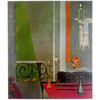 """Henri Matisse Vintage 1973 Authentic Fauvism Lithograph Print """" the Piano Lesson """" 1916 For Sale"""