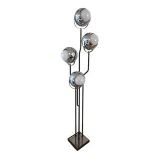 Goffredo Reggiani Cinematic Eyeball Floor Lamp, 1960s