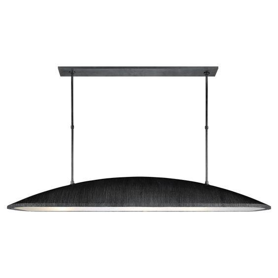 Visual Comfort Utopia Large Linear Chandelier Pendant For Sale - Image 4 of 4
