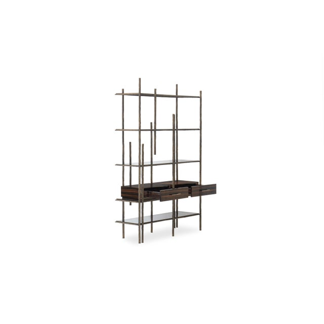 Not Yet Made - Made To Order Mambu Bookcase From Covet Paris For Sale - Image 5 of 13
