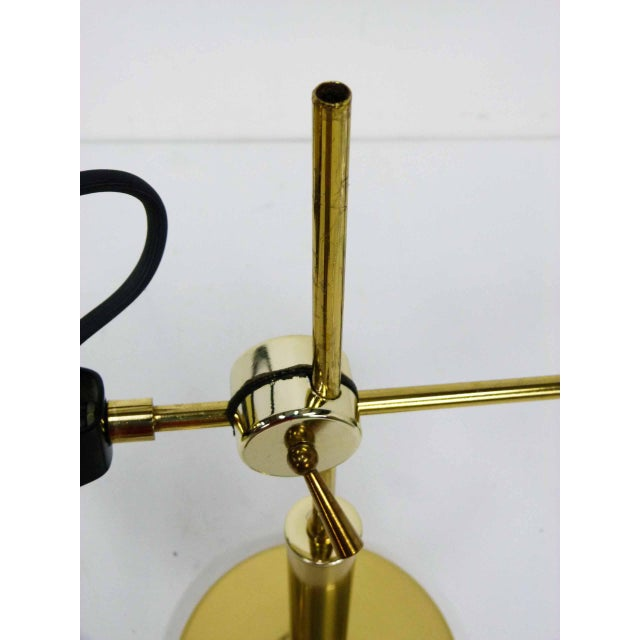 Brass Orb Ball Articulating Desk Lamp - Image 9 of 9