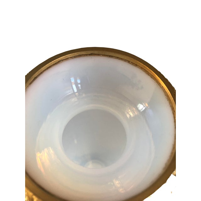 French White Opaline Vase For Sale In Dallas - Image 6 of 7