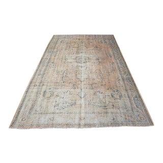 "Antique Handmade Floor Turkish Rug - 6'2"" x 10'3"""