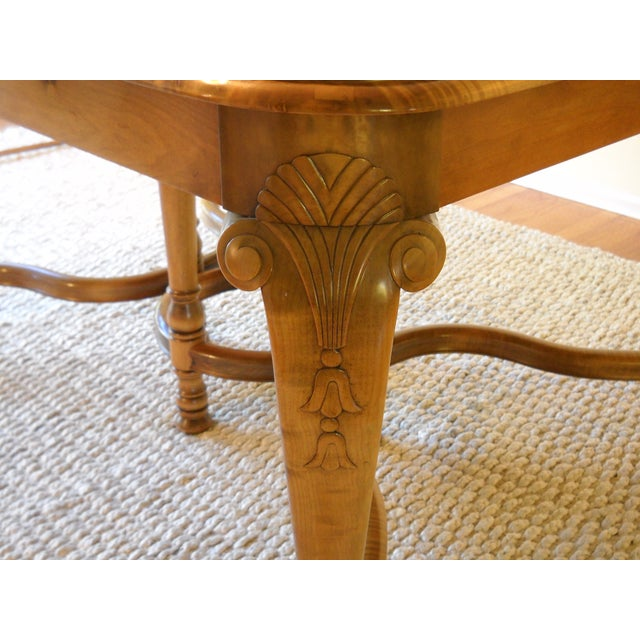 French Provincial Solid Oregon Maple Dining Set - Image 4 of 11