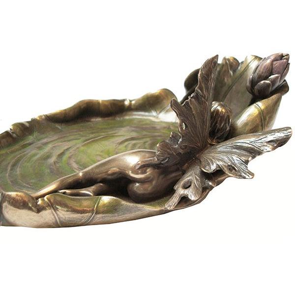 Art Nouveau Pond Leaf - Image 6 of 6