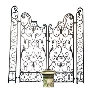 1920s French Garden Gates For Sale