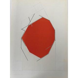 1970 Revue Derriere Le Miroir Pablo Palazuelo Original Lithograph DM10184 For Sale