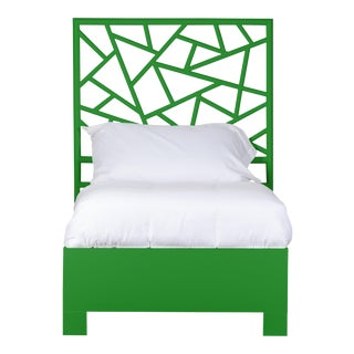 Tiffany Bed Twin - Bright Green For Sale
