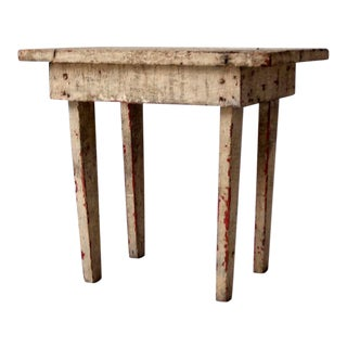 Antique Primitive Milking Stool For Sale