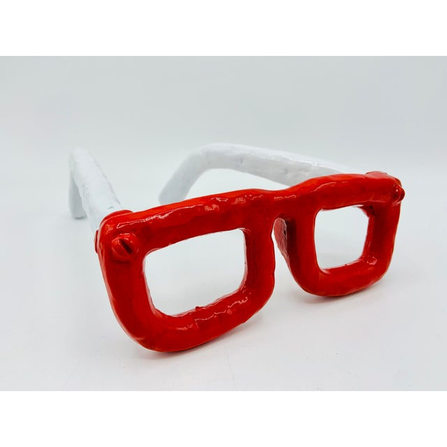 Mid Century Modern Monumental Reading Glasses For Sale - Image 11 of 11