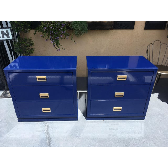 Modern Vintage Bachelor Chests - a Pair For Sale In Tampa - Image 6 of 8