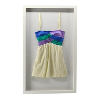 Vintage Bathing Suit, Framed For Sale
