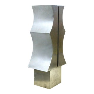 1970s Modernist Aluminum Sculpture by Yutaka Toyota For Sale