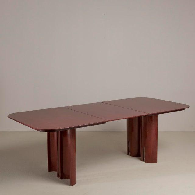 Saporiti Italia A Saporiti Designed Extendable Dining Table, 1990s For Sale - Image 4 of 8
