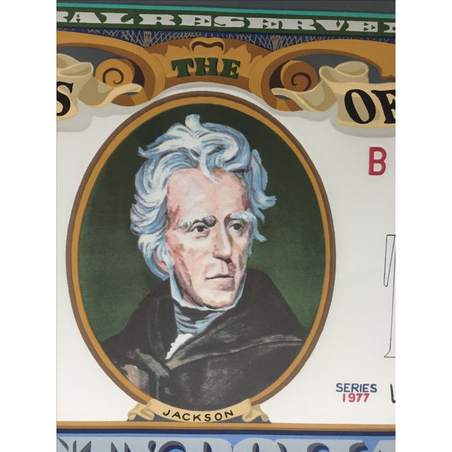 'Jackson 20' Framed Print by Tony King, 1981 - Image 4 of 10