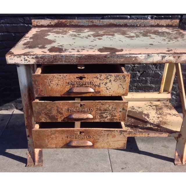 Industrial Desk - Image 6 of 7