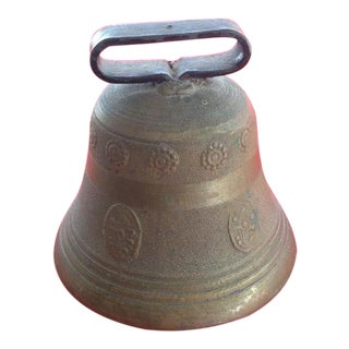 Antique Swiss Cowbell For Sale