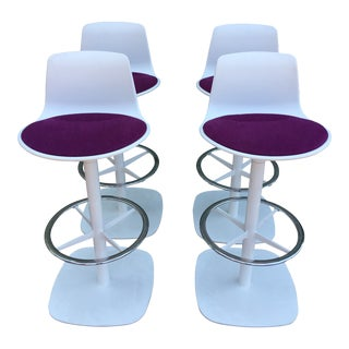 Enea Lottus Post Bar Stools