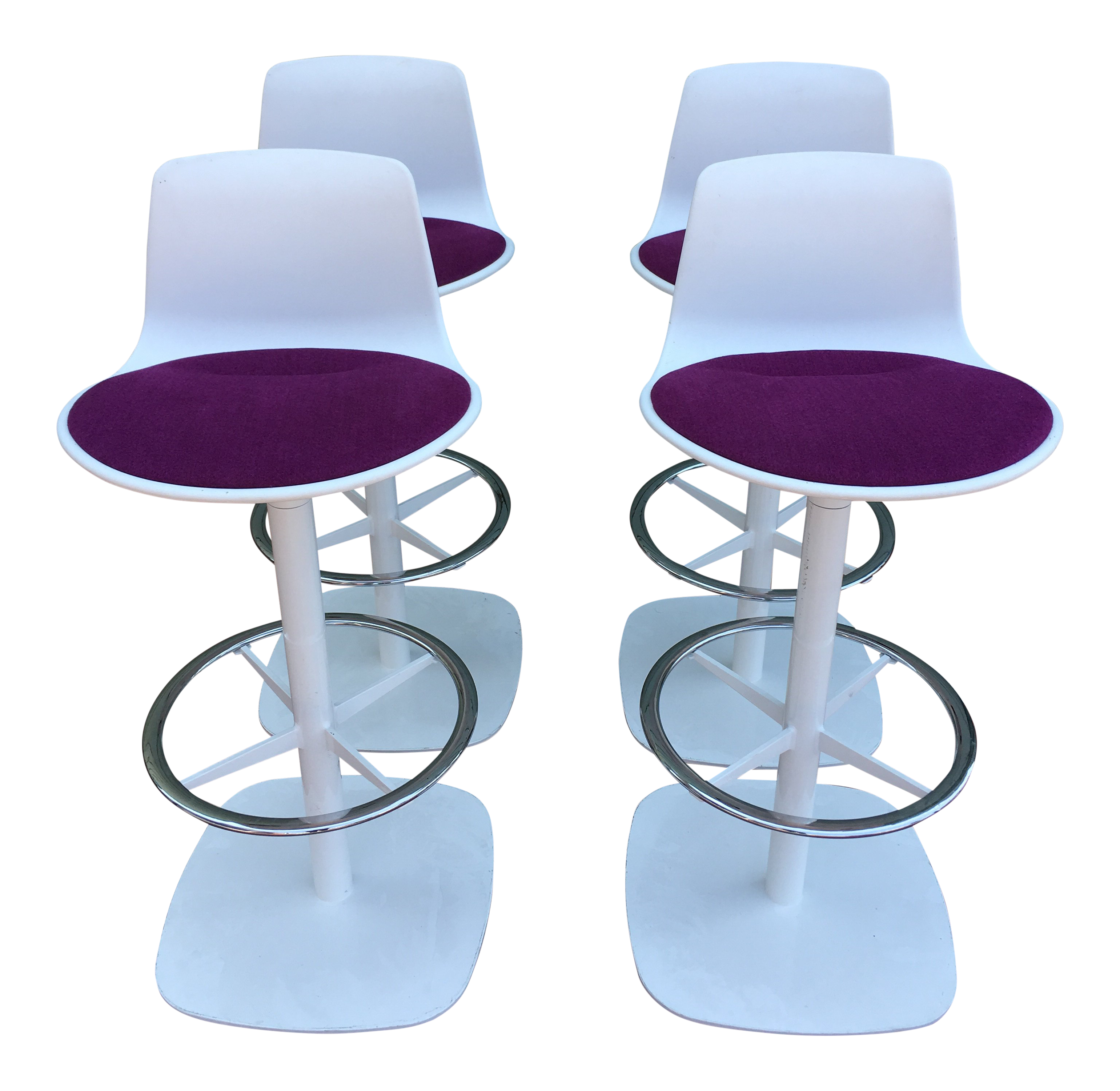 Enea Lottus Post Bar Stools For Sale