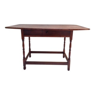 18th C. American Kitchen Farm Table For Sale
