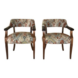1980s Vintage Southwest Inspired Paoli Chairs- a Pair For Sale