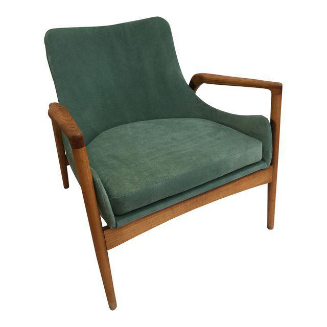 Mid-Century Modern 'Seal' Lounge Chair by Ib Kofod-Larsen For Sale - Image 11 of 11