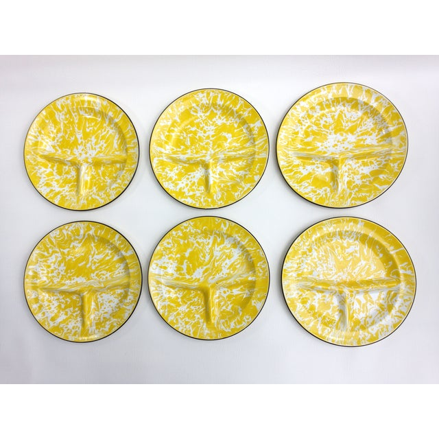 Enameled Dinner Plates - Set of 6 - Image 4 of 11